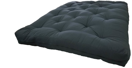Medium image of full size black futon mattress